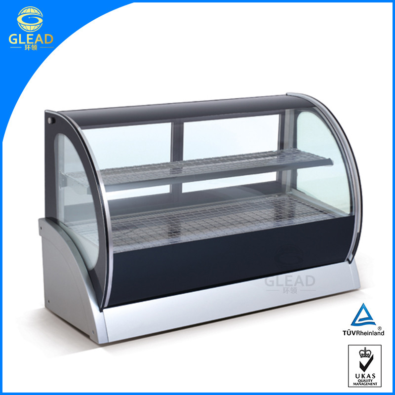 High quality commercial display fridge/fridge counter display