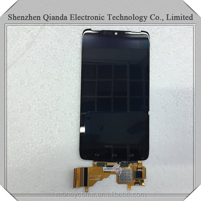 China supplier repair lcd and touch screen assembly for motorola droid turbo xt1254