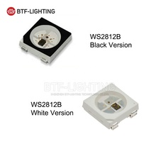 WS2812B LED chip New Version 4 pin SMD5050 ws2812b IC <strong>RGB</strong> full color For Strip Screen DC5V