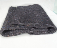 Make-to-order color needle punched polyester nonwoven recycled felt