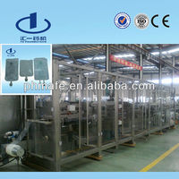 Pharmaceutical IV Soft Bag Infusion Production Equipment