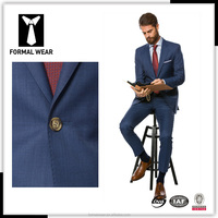Top quality wool formal wear business suits office uniform designs men