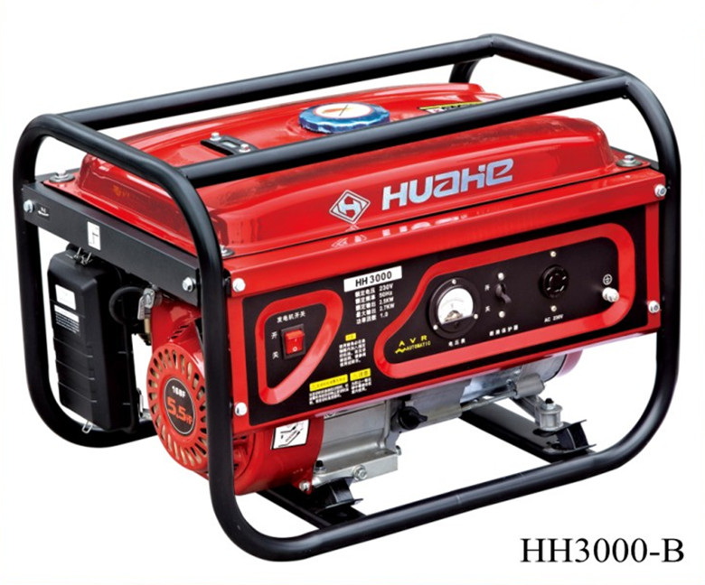 2KW Gasoline Generator 220V with 5.5HP Engine