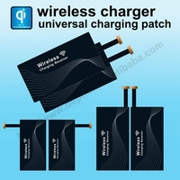 universal card wireless charger receiver for Android patch usb coil fast charging dual with china factory