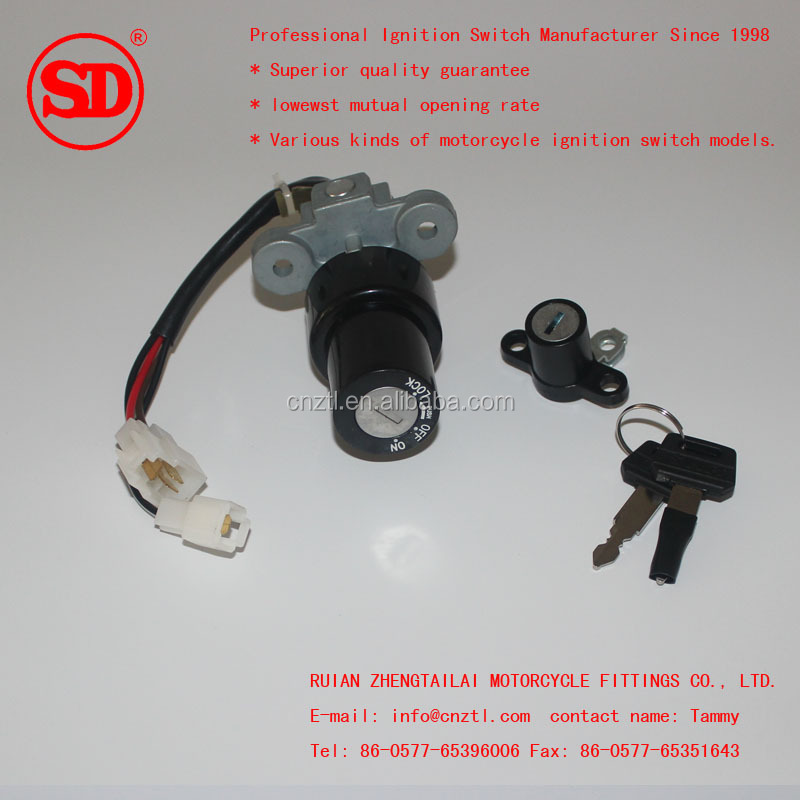 SCORPIO Z NEW 2011 Motorcycle Ignition switch ASSY 54D-H2501-00