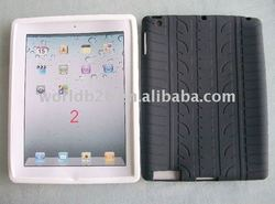 Silicon Case Skin Cover for iPad 2/2G,Back with veins