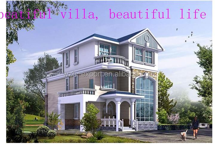 Fertighaus villa modern  Vorgefertigten Villa Designs Modernen Fertighaus Pläne - Buy ...