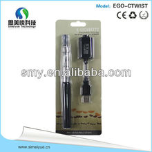 2014 ego t electronic cigarette ego-t ce4 blister wholesale with factory price