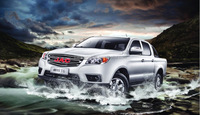 Chinese top brand JAC T6 double cab pickup for sale
