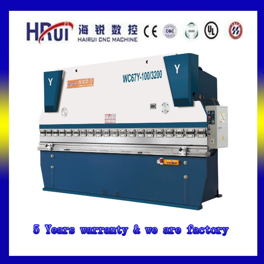 WC67Y Plate acrylic bending machine automatic press brake