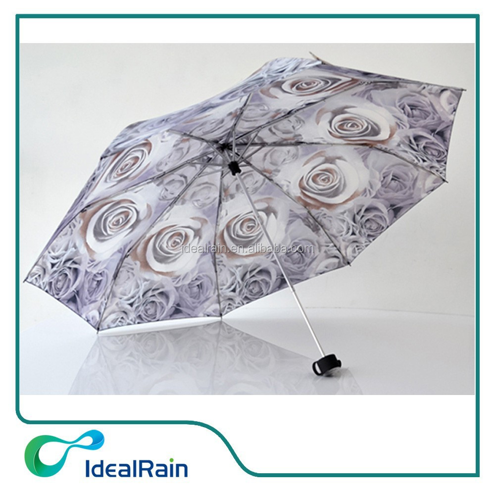 good sell hand open rose umbrella