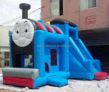 2017 hot commercial thomas the train inflatable bounce house