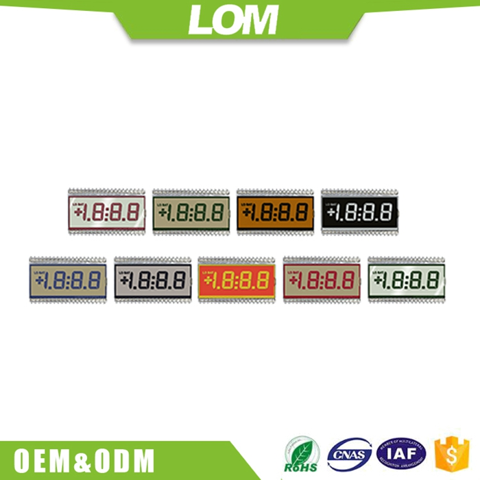 custom Electric energy Meter Segment LCD panels for sale