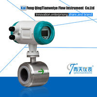 high Corrosion resisting digital magnetic flow meter