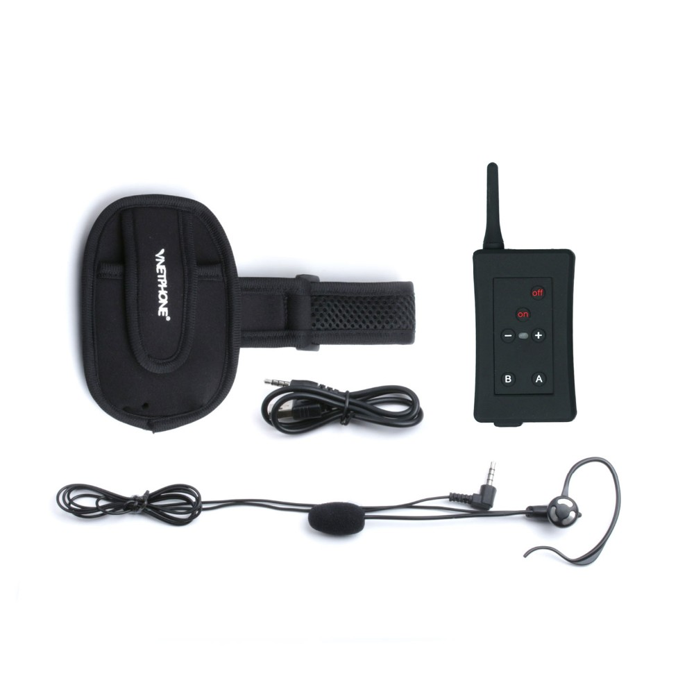 Vnetphone FBIM arm band referee communicator headset for judgement 1200 meter talking