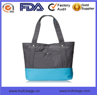 New Arrival denim fabric handbags with shoulder Oem top selling denim fabric handbags