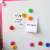 Set of 12 Pcs Round Presentation Whiteboard Magnetic Button