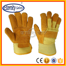 Keeping you safe and your property secure from work cow split leather work glove