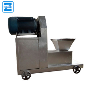 high efficiency wood charcoal making machine with small noise