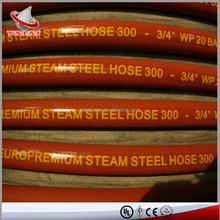 High Temperature High Pressure Steam Rubber Hose and Fittings