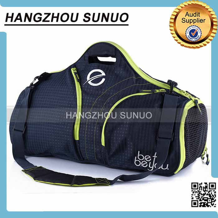High Quality Duffel Type and Nylon Material Sport Travel Bag