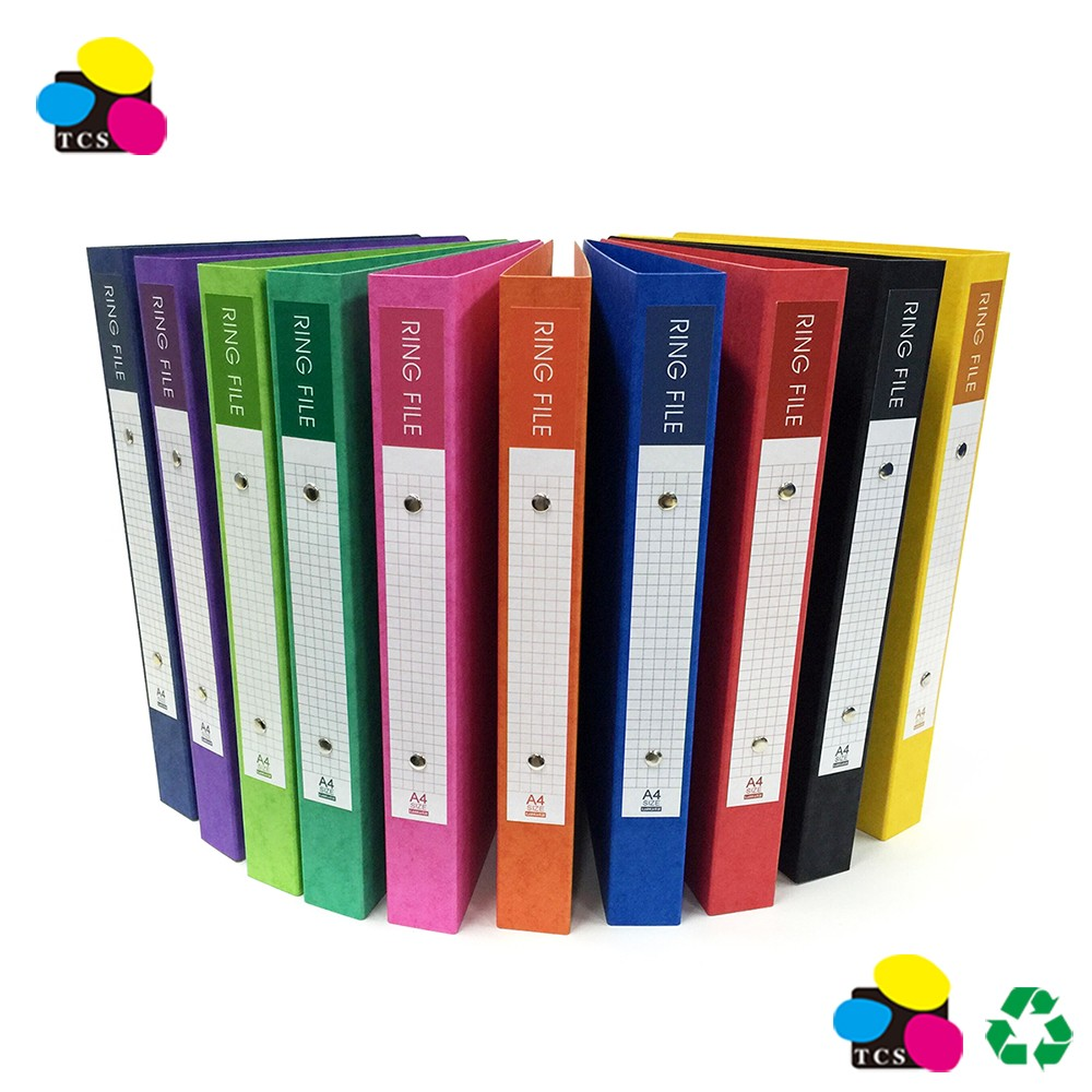 A4 Paper Ring Binder File Folder