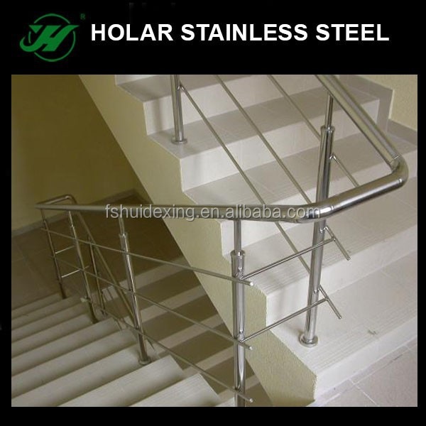 china manufacturer supplies inox indoor stair railings outdoor stair