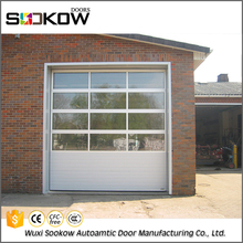 automatic sectional industrial overhead door