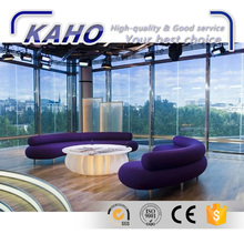 Energy saving temperature /climate control sun shading solar smart glass for Curtain wall