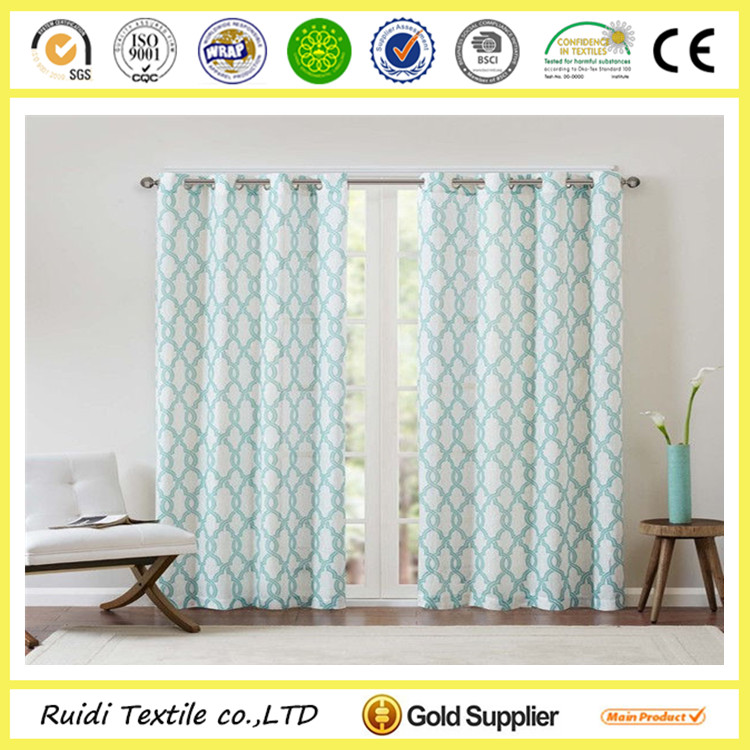 custom design printed cheap living room curtain wholesale living room curtain