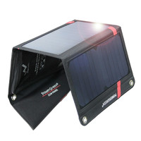 PowerGreen Foldable Thin Solar Panel Charger 21 Watts Solar Power Bag for Phone