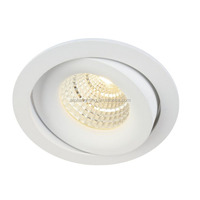 Aluminum alloy material die-casting 4inch 13W cob led light downlight, 92mm cutout led downlight