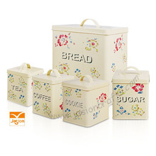Hot Sale Canister Set Flour Sugar Coffee Tea SET
