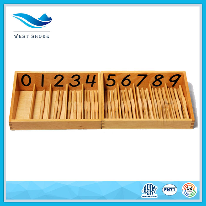 Popular early learning kindergarten children Montessori teaching aids