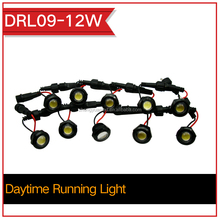 12w A4 A6 A8 led flexible led drl/ daytime running light car lamp