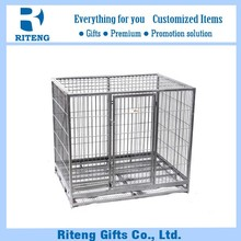 China made large steel dog transport cage