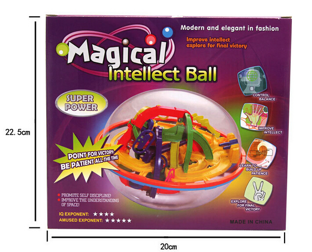 labyrinth 3d 208 steps maze ball magic maze intelligence ball children educational toys
