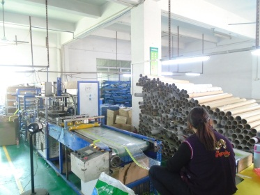 Automatic bag making