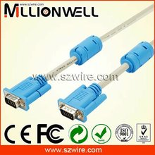 Flat white hot sell VGA cable VGA Internal