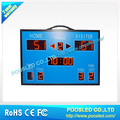 led portable scoreboard /mini scoreboard led /led multi-sports scoreboard