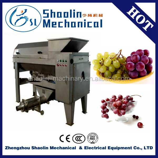 newly design grape stem crusher with broken machine with high efficiency
