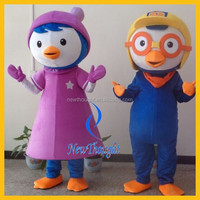 2015 movie adult animal cartoon pororo mascot costume