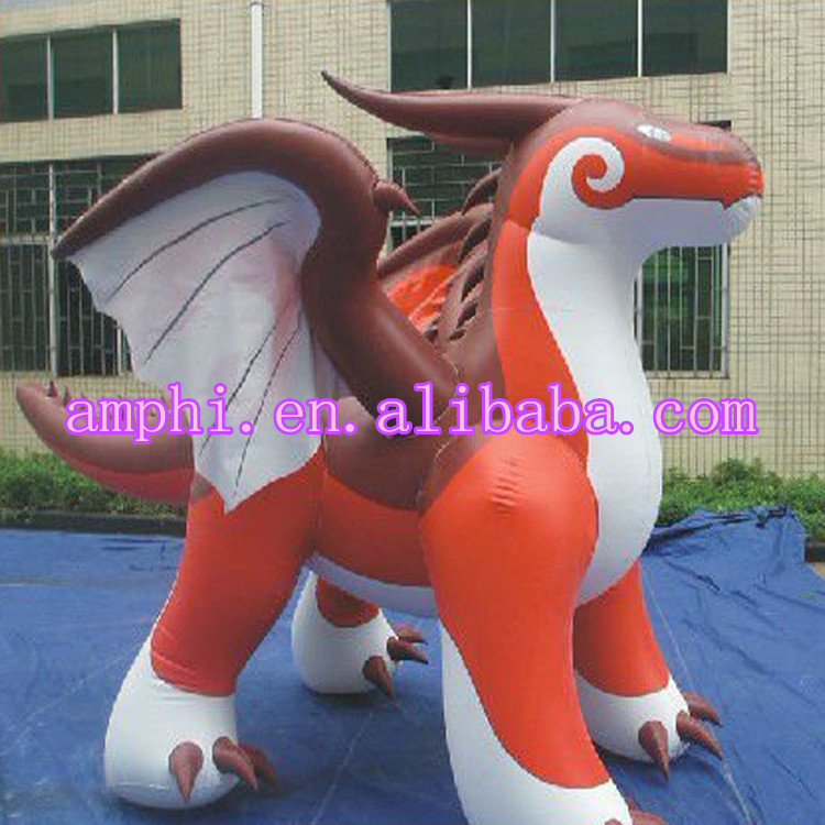 inflatable flying Dragon model