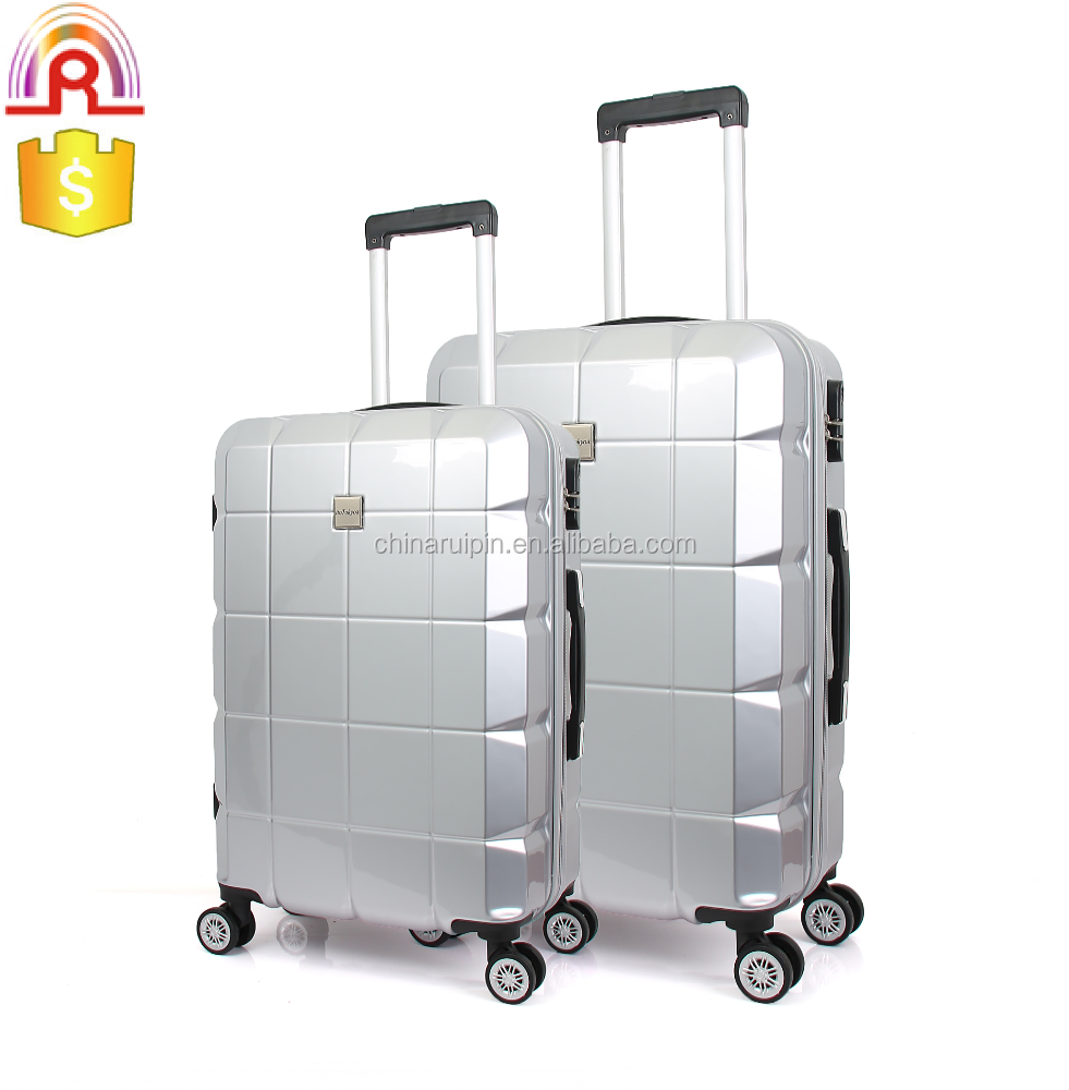 China Factory ABS PC hard side lightweight Carry-On travel luggage case