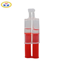 India MSDS Electronic Component Adhesive Syring Tube Crystal Clear Resin AB Epoxy Glue