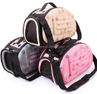 Factory new design pet carrier, folding cat carrier,space eva dog bag home