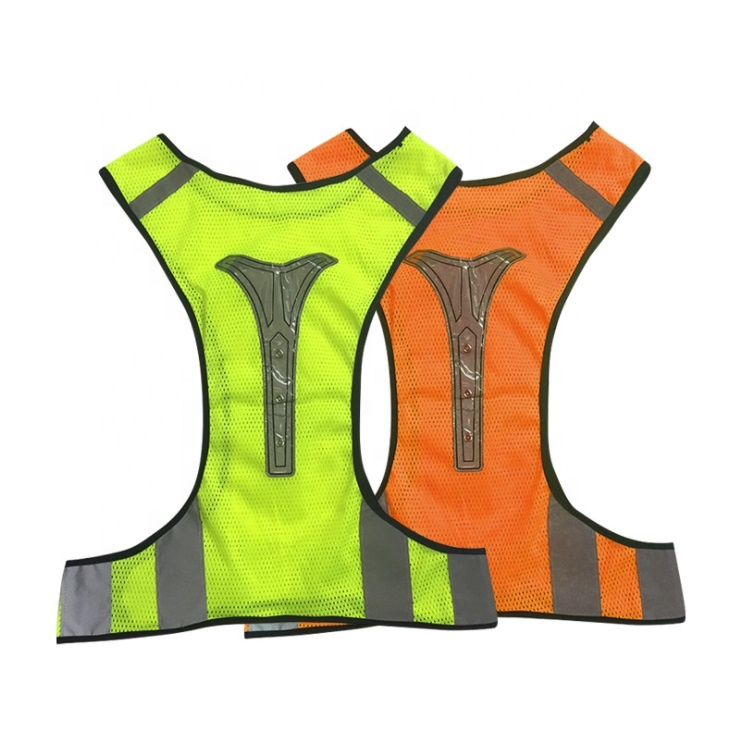 Sport Walking Mesh Cycling <strong>Safety</strong> LED Flashing Lighted Reflective Running <strong>Safety</strong> Vest