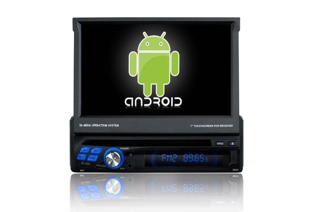Pure Android CAR DVD Player 7 inch Universal ONE DIN CAR DVD