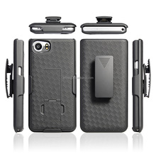 Black Hard PC Cell Phone Kickstand <strong>Cases</strong> for <strong>Blackberry</strong> Keyone