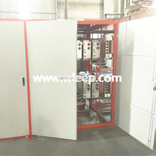 Electrical induction furnace for steel used on billets capacity 5 tons/h with power supply machine